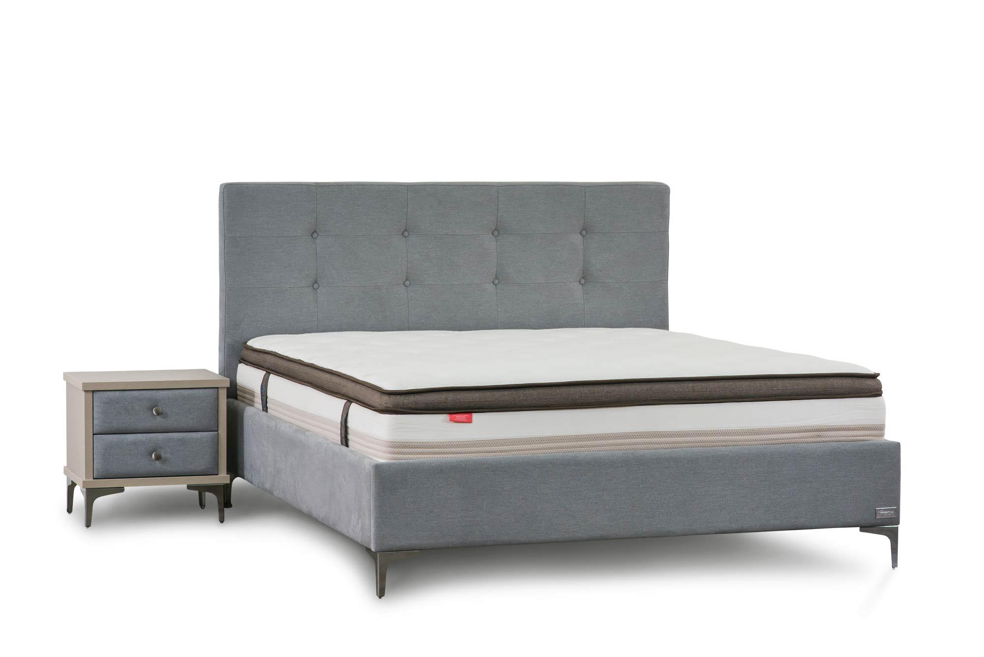 מיטה זוגית מרופדת דגם אורין