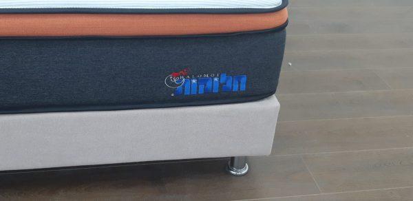 מזרן זוגי אורטופדי קפיצים מבודדים דגם אוניקס