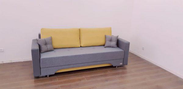 ספה נפתחת למיטה זוגית עם ארגז מצעים - דגם סמדר