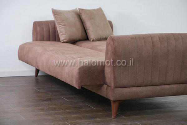 ספה תלת נפתחת למיטה לאירוח - דגם אילן