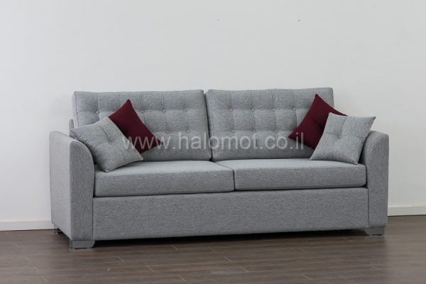 ספה תלת מושבית לסלון דגם בר