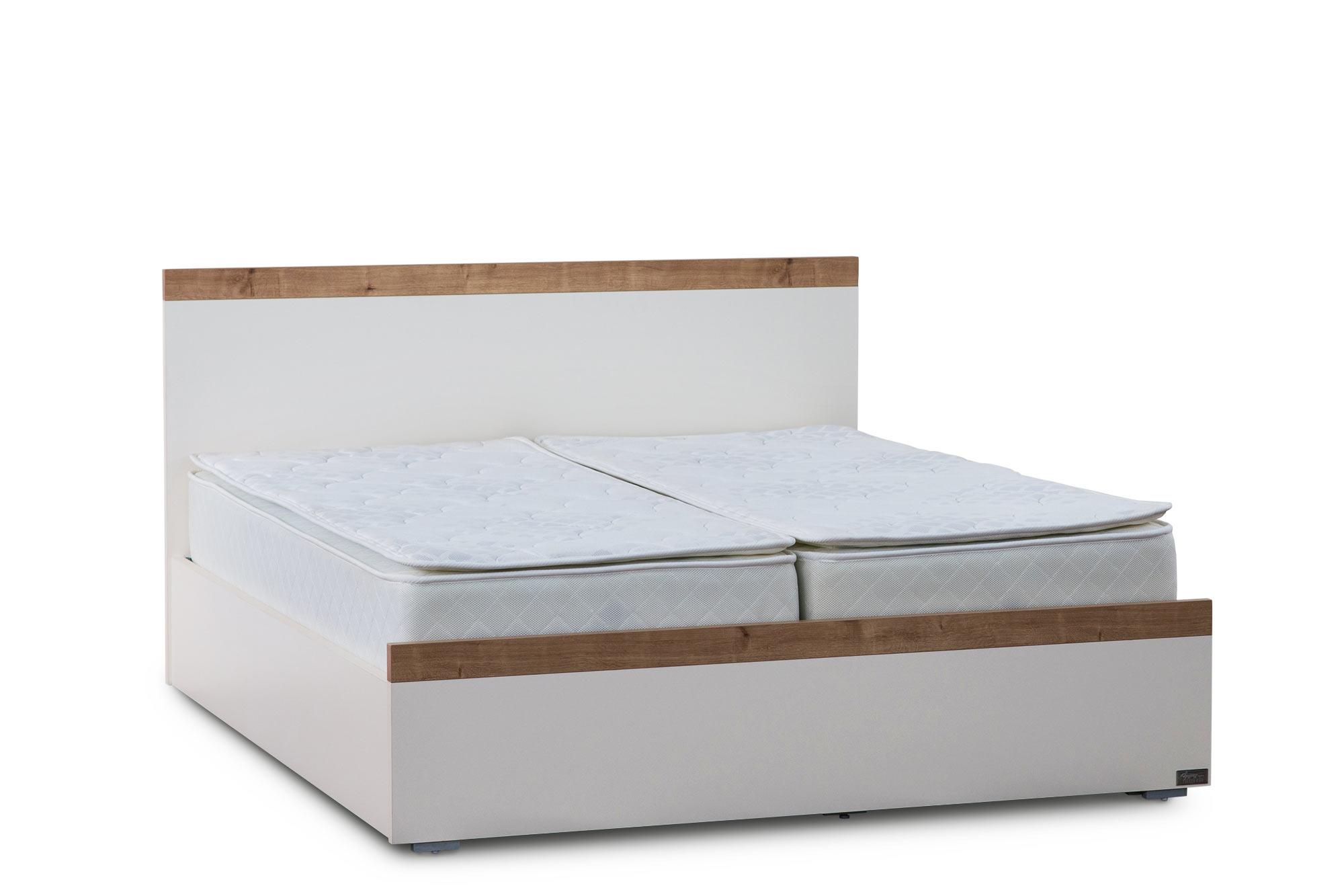 מיטה יהודית עם ארגזי מצעים דגם לורין