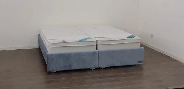 מיטה יהודית מרופדת בהפרדה דגם אדר