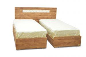 מיטה יהודית עם ארגזי מצעים דגם ויטראז