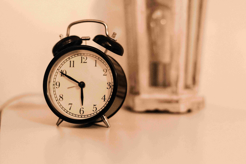 תזמון שעות השינה