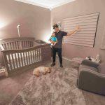 עיצוב חדר שינה לתינוק