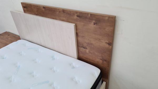 מיטה זוגית עם ארגז מצעים דגם דרור