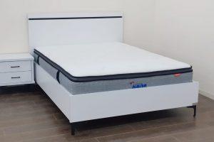 מיטה זוגית עם ארגז מצעים מוגבה דגם סנדי 3
