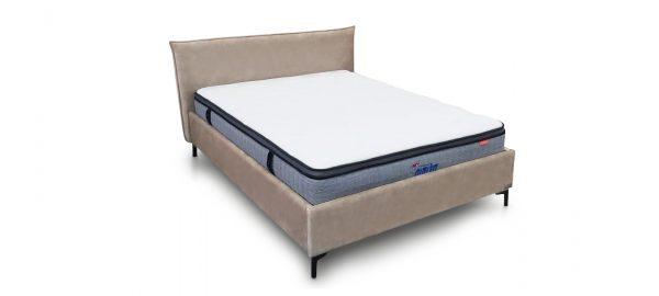 מיטה זוגית מרופדת דגם ווגאס