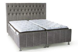 מיטה יהודית מרופדת דגם דקלה פלוס ארגז מצעים