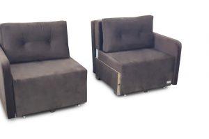 ספה נפתחת לזוג מיטות בודדות דגם שרה